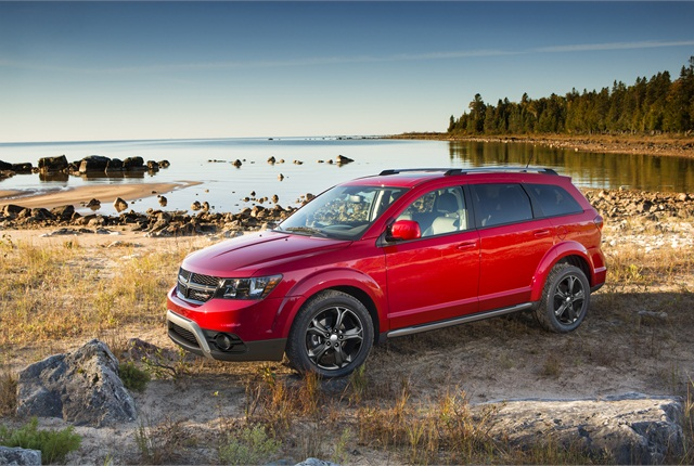 Photo of Dodge Journey courtesy of Chrysler Group.