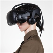 VR headsets like this one are being used to train UPS drivers. Photo: UPS