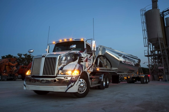 Western Star is proud to extend the highly successful VetStar Military Appreciation program for 2018. All Western Star models qualify for the program including the tough, rugged and extremely efficient 5700XE daycab. (Image courtesy of Western Star)