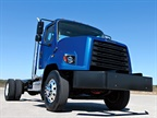 The Freightliner 108SD was one of several models recalled by Daimler Trucks North America for an issue with improperly torqued brake caliper mounting bolts. Photo: Freightliner