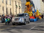 In 2011, the dozens of GMC vehicles involved in the Macy's Thanksgiving Day Parade included this Yukon Denali SUV.