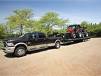 The Ram 3500 Heavy Duty pickup will claim a 30,000-lb. trailer capacity thanks to a new class-exclusive 50,000 pounds-per-square-inch, high-strength steel frame.