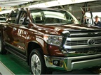 The 1 millionth truck to roll off the assembly line at Toyota Texas was a Sunset Bronze Mica colored, 1794 Edition Tundra.