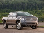 The Toyota Tundra won it's fourth consecutive ALG Residual Value award. (PHOTO: Toyota)