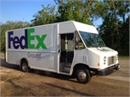 Harry Carver, a Fedex contractor based in Tyler Texas now has one Ford F-59 CNG truck in his fleet and is looking to purchase several more. (PHOTO: WESTPORT)<br />