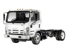 The Isuzu NPR-XD diesel truck will be powered by the Isuzu 4HK1-TC 5.2L turbocharged diesel engine. (PHOTO: Isuzu Commercial Truck of America)