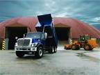2014 International WorkStar with dump body. (PHOTO: Navistar)