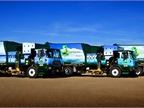 In February of 2012, TFC Recyling became the largest private owner and operateor of clean-running collection trucks in Virginia when it added an additional five compressed natural gas (CNG) trucks to its fleet operations, for a total of six. (PHOTO: Virginia Clean Cities)