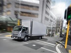 New 2015 model Canters will come from the factory with the EPS installed. (PHOTO: Mitsubishi Fuso)