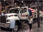 Freightliner 122SD Mixer at the World of Concrete Show (PHOTO: Freightliner)