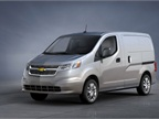 The Chevrolet City Express cargo van will go on sale in the fall of 2014, according to GM and Nissan. Photo courtesy GM.