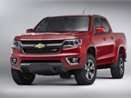 Chevrolet has unveiled the 2015-MY Colorado mid-size pickup.