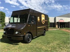 <p>UPS and FCCC celebrate the 50,000th chassis delivered to UPS. <em>Photo courtesy of FCCC</em></p>