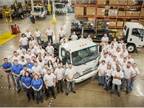 The 40,000th gasoline-powered Isuzu N-Series truck has been produced at the Spartan Motors, Inc. facility in Charlotte, Mich., on June 8, 2017. (Photo: Isuzu Commercial Truck of America)