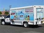 Nestlé Waters North America unveiled five medium-duty beverage trucks equipped with ROUSH CleanTech propane autogas fuel systems: Photo via Roush.