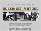 Screencapture of Bollingermotors.com.