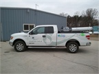 Charter Fuels newly converted propane autogas-powered Ford F-150.