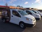 Des Moines, Iowa-based Smokey D's BBQ has added several Chevrolet City Express cargo vans to its fleet to keep up with product demand. Photo: GM