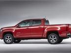 Photo of the 2016 Chevrolet Colorado courtesy of GM.