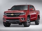 Photo of 2016 Chevrolet Colorado Z71 courtesy of GM.