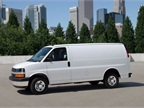 Photo of 2013 Chevrolet Express 2500 cargo van courtesy of General Motors.