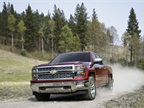 Photo of 2015 Chevrolet Silverado LTZ courtesy of GM.