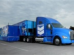 Chevron's Delo Truck, an 80-foot interactive experience, will be on display in the 70,000 sq.-ft. exhibit hall at the 2013 Green Fleet Conference & Expo.