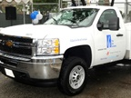 SoCalGas Chevrolet Silverado CNG upfitted by Landi Renzo USA (PHOTO: Landi Renzo)