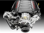 Photo of Corvette's 6.2L V-8 courtesy of GM.