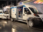 The Ram ProMaster were among the Mopar-modified vehicles on view at this year's SEMA Show in Las Vegas.