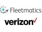 <p><em>Logos via Verizon and Fleetmatics.</em></p>