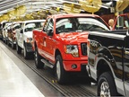 The first CNG-capable F-150 recently rolled off of Ford's assembly line in Kansas City