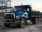 Photo of 2016 F-650 dump truck courtesy of Ford.