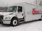 Photo of Coors Light beverage truck using a Freightliner M2 chassis.
