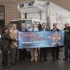 LaVallee's Bakery Distributors, of Waltham, Mass., accepts the 100,000th