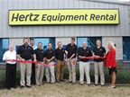 (PRNewsFoto/The Hertz Corporation)Hertz Equipment Rental officially opens its new facility in Cedar Rapids, Iowa.