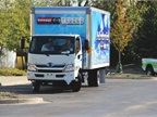 Hino showcased its 195h at the 2012 Green Fleet Conference, put on by Bobit Business Media. (Photo: Lauren Fletcher)