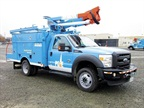 Photo courtesy of PG&E<br />The plug-in hybrid electrick bucket truck from PG&E.