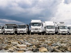 Image of Isuzu family of trucks courtesy of Isuzu Commercial Truck of America