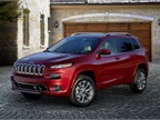 Photo of Jeep Cherokee Overland courtesy of FCA US.