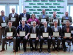 Sustainability All Star winners in attendance at the 2014 Green Fleet Conference.