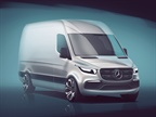 Sketch of the next-generation Mercedes-Benz Sprinter courtesy of