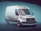 Sketch of the next-generation Mercedes-Benz Sprinter courtesy of