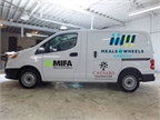 Caesars Foundation donated its 60th van to Meals on Wheels America. Photo courtesy of Caesars Foundation.