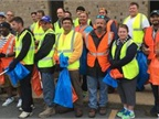<br />Mickey employees take to the streets of High Point to help Keep America Beautiful. (PHOTO: Mickey Truck Bodies)<br /><br />