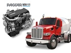 The Paccar MX-11 engine with the Model 567. Photo: Peterbilt