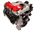 Photo of Cummins 5.0L turbo diesel courtesy of Nissan.