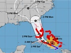 <p><em>Graphic of Hurricane Irma forecast via NOAA.</em></p>