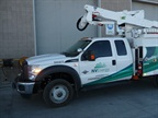Photos courtesy of NV Energy.This is an NV Energy hybrid trouble truck.
