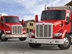 Photo of the Model 567 lineup courtesy of Peterbilt Motor Company.